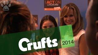 Amanda Holden at Crufts 2014