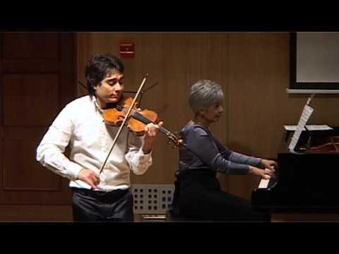 Dinicu-Hora Staccato , Leonid Zhukovskiy-violin,Larisa Markosyan-piano