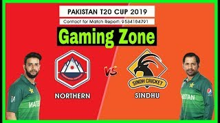 Live cricket match today | north  vs sindh | national t20 cup 2019 | live cricket
