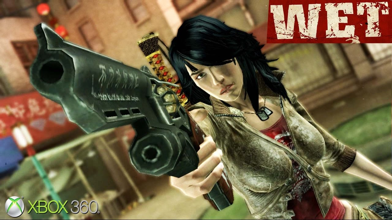 Wet Xbox 360 Ps3 Gameplay 2009 Youtube