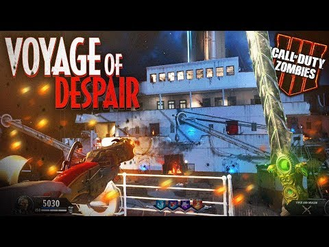 Black Ops 4 Zombies: 'VOYAGE of DESPAIR' First Live Attempt! w/Syndicate!