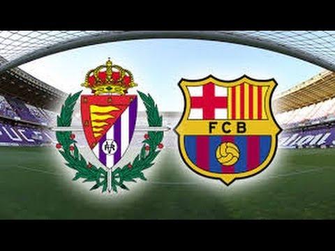 Real Valladolid vs Barcelona 1-0 || GOLES HD || LIGA BBVA  08.03.2014
