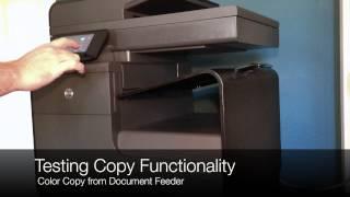 HP OfficeJet Pro X: Printing Speed