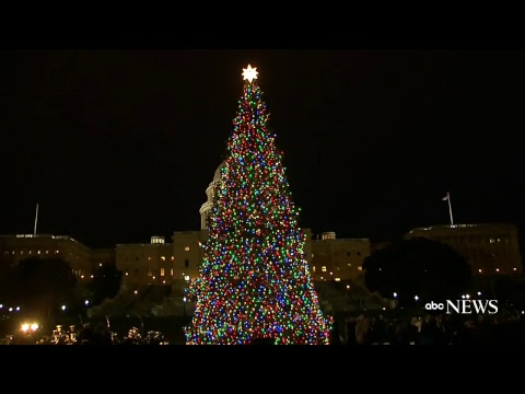 Christmas 2017: U.S. Capitol tree lighting ceremony live | ABC News