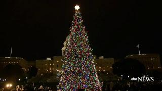 christmas 2017 us capitol tree lighting ceremony live abc news