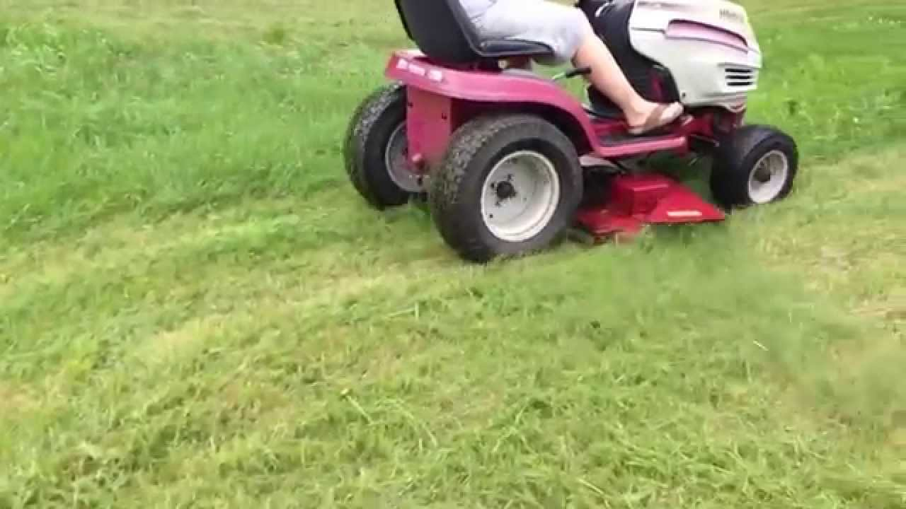Garden Tractor Without Mower Deck : White outdoor hp gt garden tractor w quot mower deck