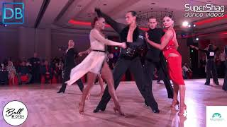 Part 1! Approach the Bar with DanceBeat! SF Open 2018! Pro Latin! Ivan Mulyavka  and Karin Rooba!