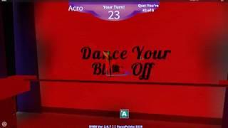 ROBLOX ~ Dance Your Blox Off ~ Acro _ Immortals ~