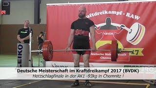 Classic KDK DM 2017 (BVDK) - Herzschlagfinale in der AK1 -93 kg !