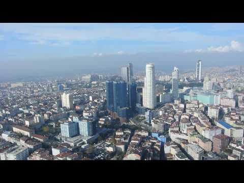 Bosphorus Helicopter Tour İstanbul - Kaan Airport HD