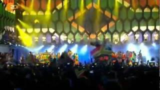 Shakira Es Tiempo De Africa 10jun2010 Concierto Sudafrica.mpg