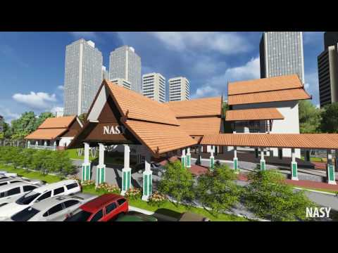 Laos railway Project animation