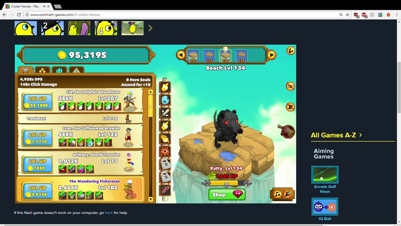 Www Coolmath Games Com 0 Clicker Heroes | Gameswalls org