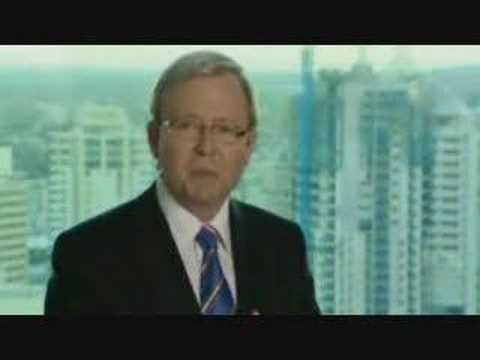 The Chaser's War on Everything: Kevin Rudd Labor Commercial