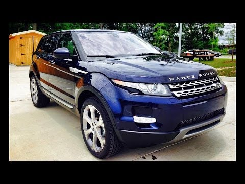 2014 Range Rover Evoque Start Up, Exhaust, Full Review
