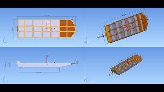 Обзор необычной полиэтиленовой (ПНД)  лодки СКИФ 3900