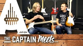 Andy Timmons 2014 Ibanez Interview with Capt Anderton