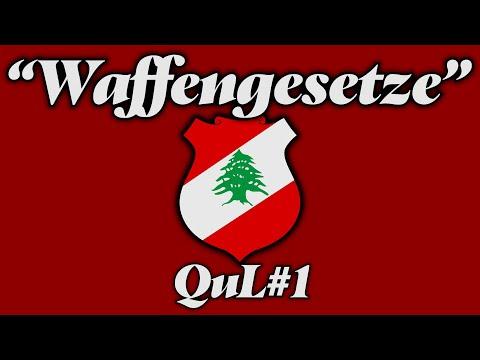SA4, GZUZ UND BONEZ MÜSSEN IHREN SONG LÖSCHEN?? - WAFFENGESETZE IM LIBANON
