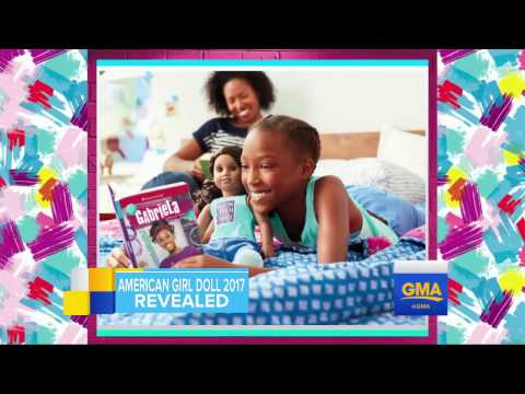 American Girl's 2017 Girl Of The Year Doll Revealed On 'GMA'