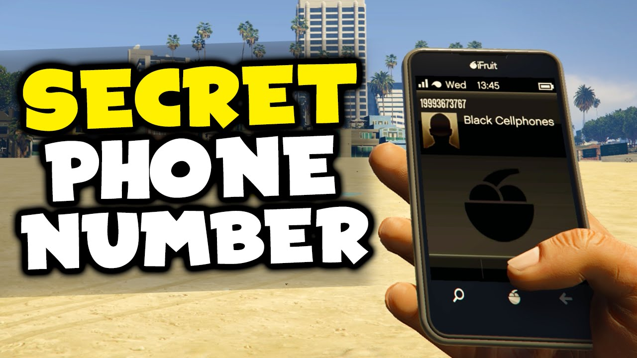 Gta 5 Secret Phone Number Bomb Quot Black Cellphones