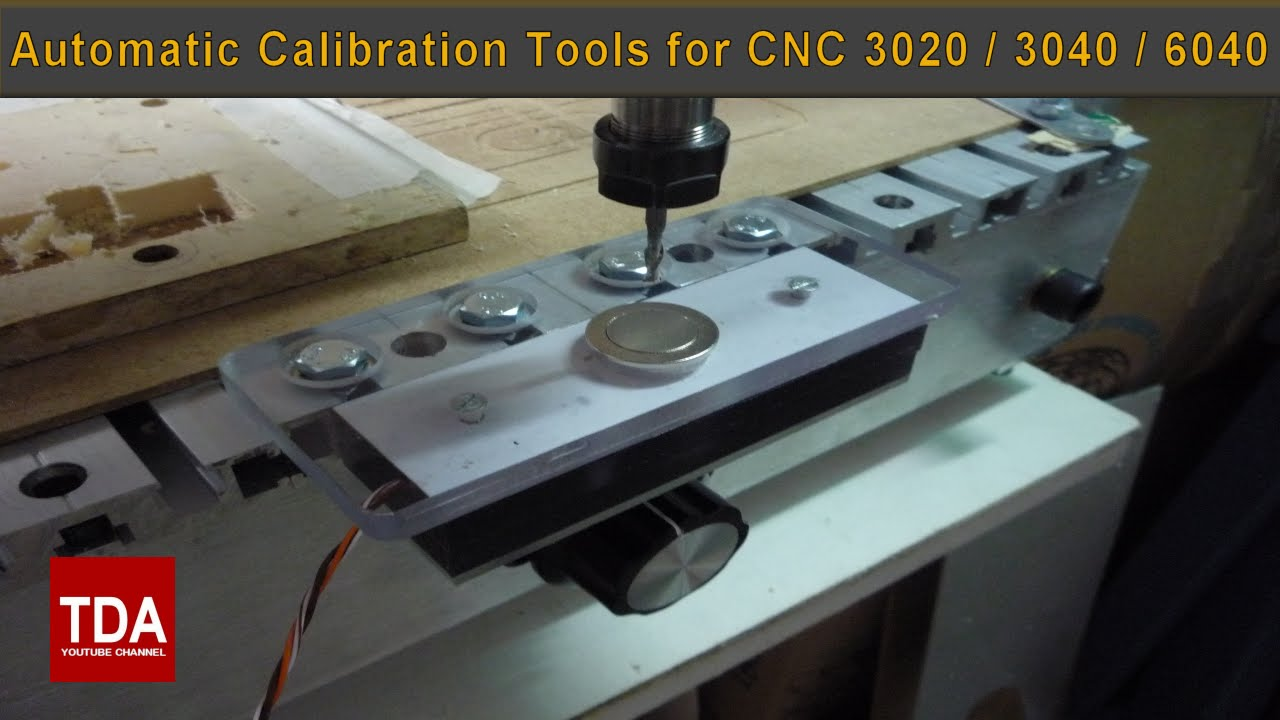 Tutorial Part 2 - Automatic Calibration Tools for CNC 3020 / 3040 / 6040