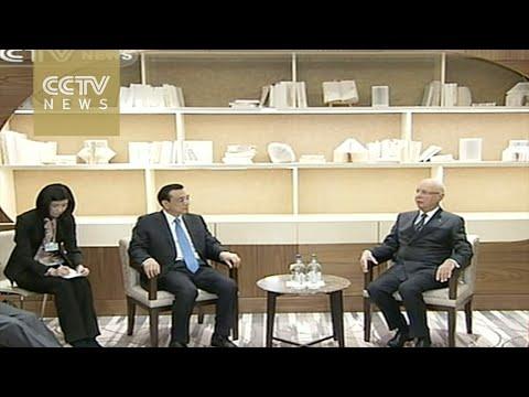 Premier Li in Davos: Improvements in China benefits world economy