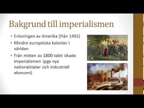 Vad är grejen med imperialism?