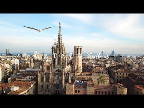 Barcelona Catalunya Drone & Travel Video - DJI / GoPro