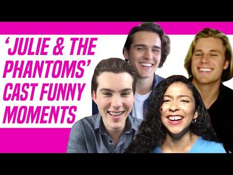Julie and the Phantoms Netflix Cast Talks Funniest Moments