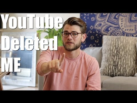 YouTube Deleted My Channel (TheGayStoner)