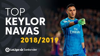 TOP Moments Keylor Navas LaLiga Santander 2018/2019