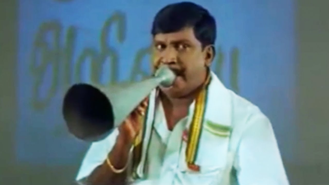 Vadivelu comedy how he make people to run from cinema theatre | Tamil  Matinee HD