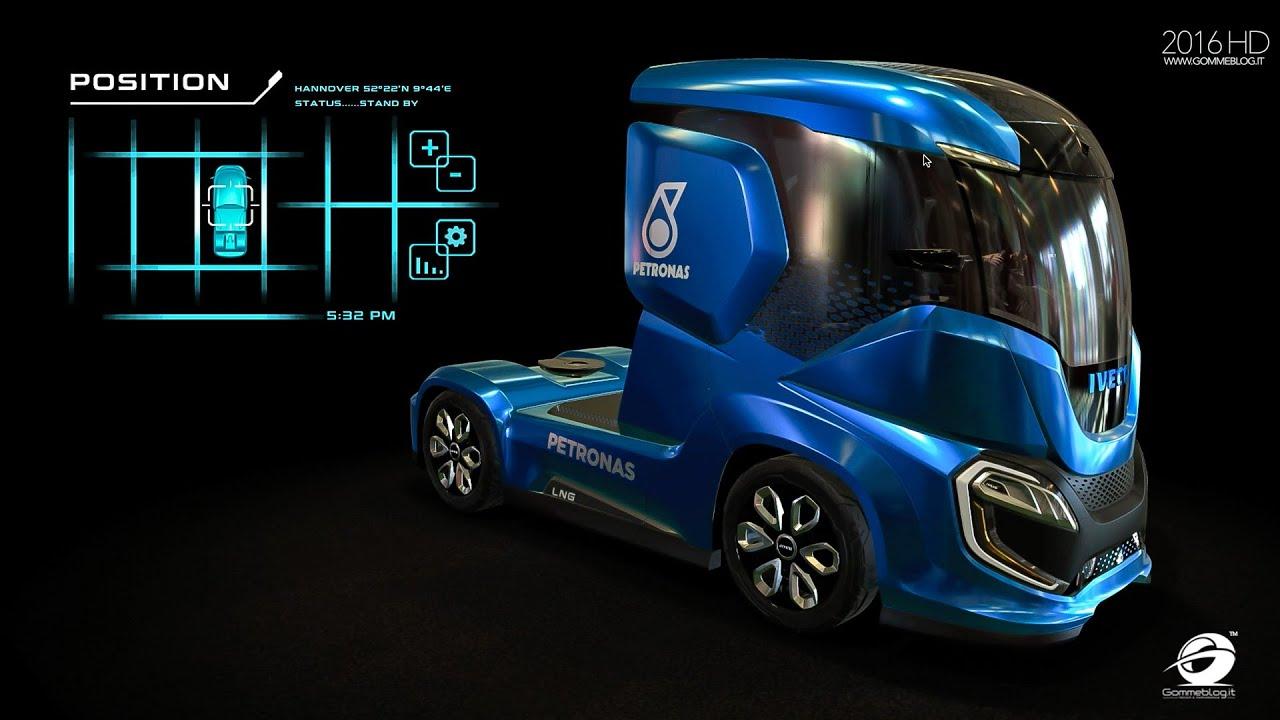 Sleeper Car Wallpaper Iveco Z Truck The Zero Impact Concept Truck Youtube