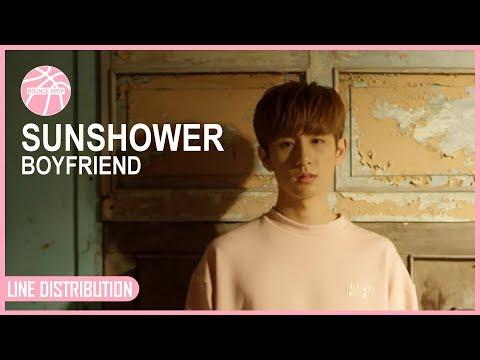 BOYFRIEND - SUNSHOWER [Line Distribution] #7yearswithBoyfriend
