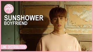 BOYFRIEND - SUNSHOWER [Line Distribution] #7yearswithBoyfriend - Stafaband