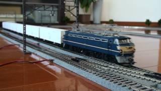 【HOゲージ】 ムサシノモデル EF66 53牽引レサ10000系「とびうお」