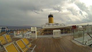 21 Sept 2015, Costa Pacifica, Storm over Crete
