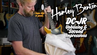Harley Benton Double Cut Junior - Unboxing and second? Impressions.