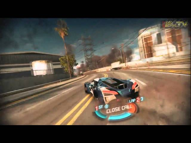 Split/Second: Velocity Xbox 360 - Ryback Vulcan Gameplay