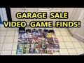 GARAGE SALE VIDEO GAME FINDS! GAMECUBE & PS1 PICKUPS! | Scottsquatch
