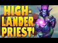 The BEST Highlander Priest Deck YET! Beats Every Meta Deck!! | Galakrond's Awakening | Hearthstone