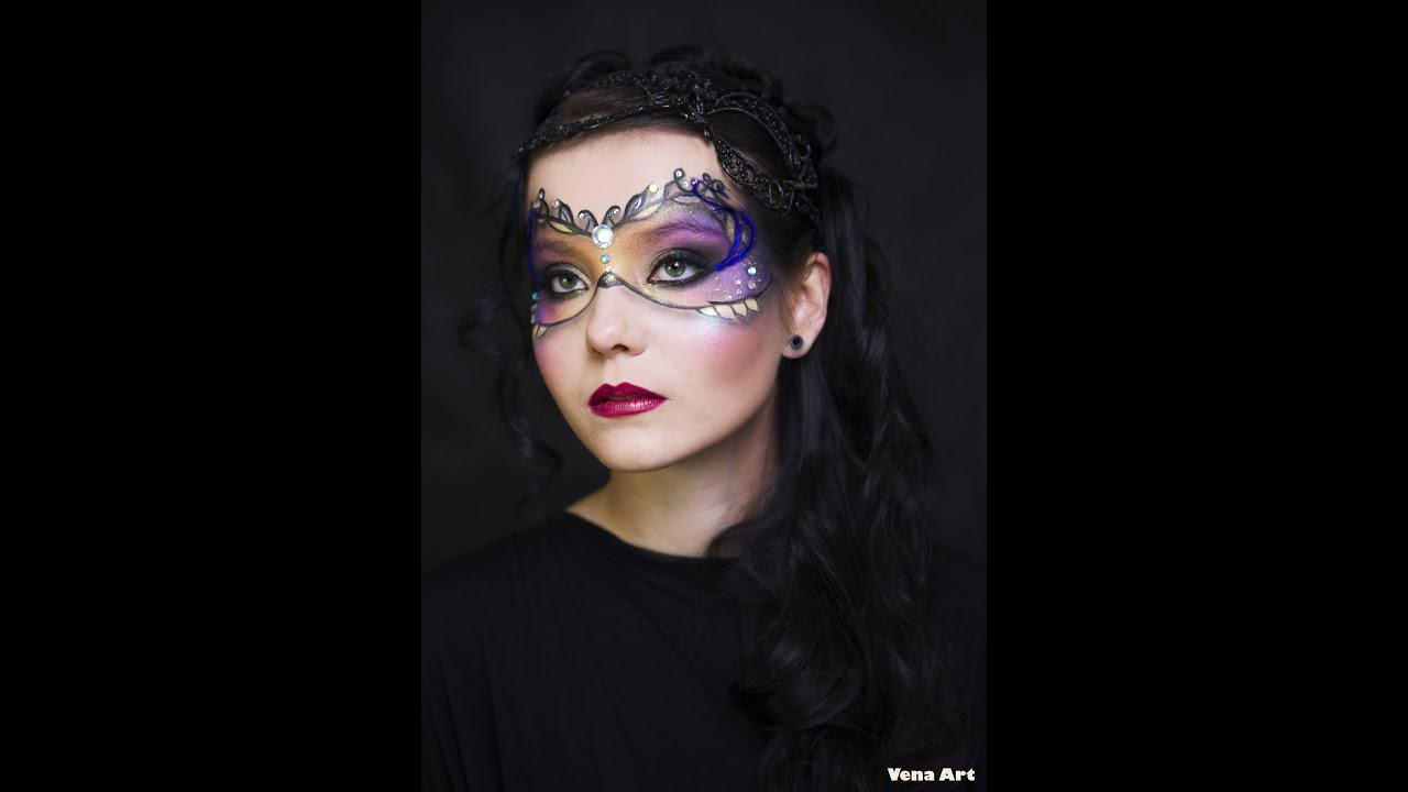 Makijaż Artystyczny Maski Zajęcia W Szkole Wizażu Vena Art Youtube