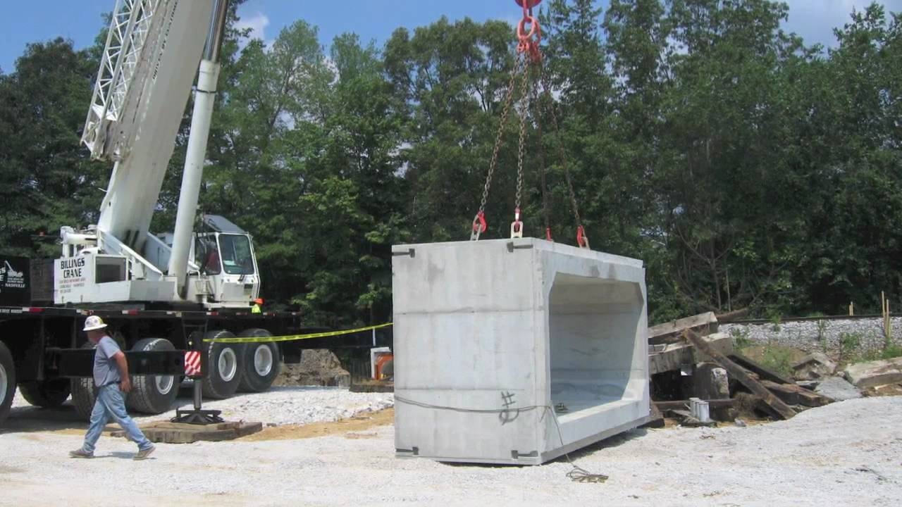 Box Culvert Delivery and Installation