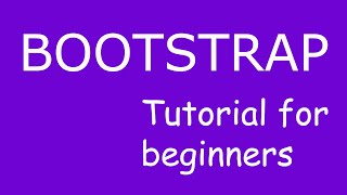 Header and Footer navigation bars:Bootstrap tutorial for beginners#4 thumbnail