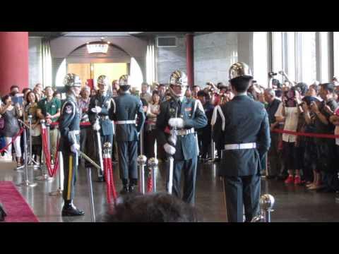 Change of Guards ceremony @ Sun-Yat Sen Memorial Hall, Taipei, Taiwan