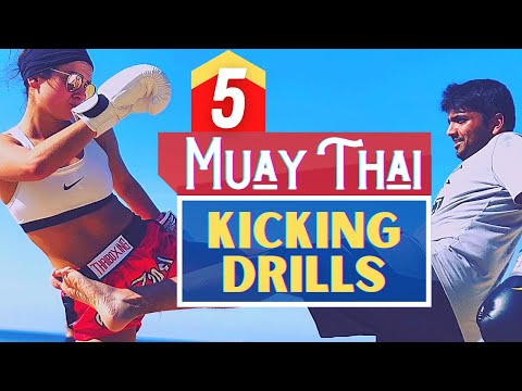 5 Muay Thai Kicking Drills With a Partner