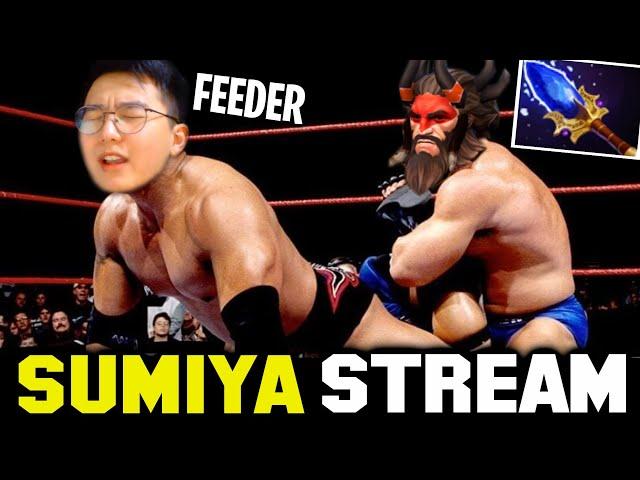 This BEASTMASTER Make Sumiya be the FEEDER | Sumiya Invoker Stream Moment #2150