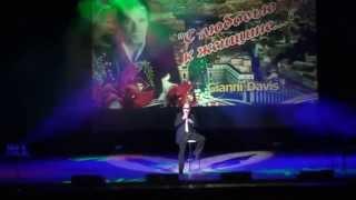 Джанни Дэвис.Концерт в г.Запорожье 8 марта 2015г. Песня Андриано Челентано.