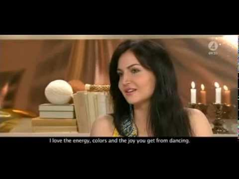 Elli Avram's Exclusive, Fun interview on 'Mickey Virus' - Swedish interview (WITH SUBTITLES) TV4