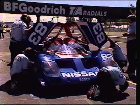 Brabham and Morton in the 1988 season of IMSA win 8 in a row with Nissan GTP Prototype